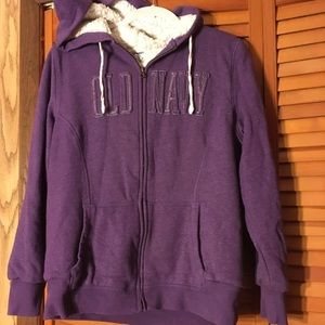 Old Navy purple sweatshirt